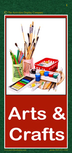 Arts and Crafts Activities Cards
